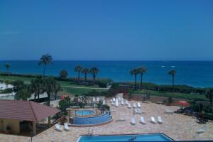 Summer pool ocean