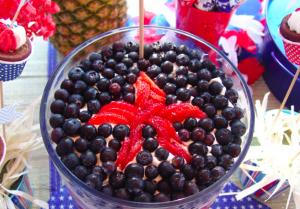 Berries dessert