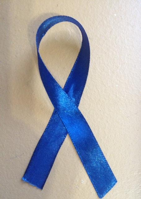 Bildresultat för colon cancer ribbon