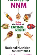 National Nutrition Month®: Enjoying the Taste of Eating Right