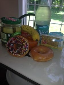 Donuts-pickes etc