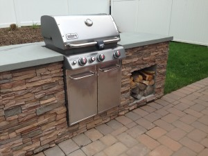 Grill-built in
