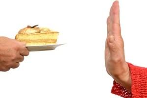 Hand Stops Cake