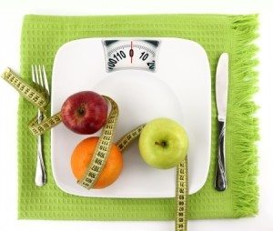 Fruit-Measuring tape on scale plate