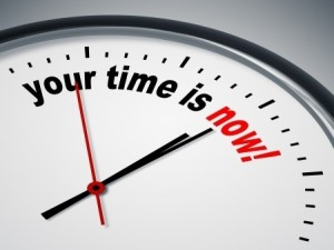 Your time is now clock