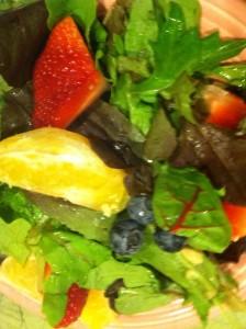 Mixed Greens Citrus Berry Salad 2