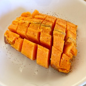 Sweet Potato cooked