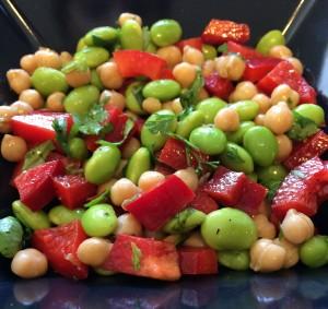 Edamame Chickpea Salad 2