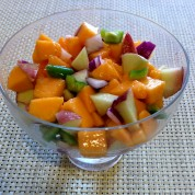Papaya Peach Salsa